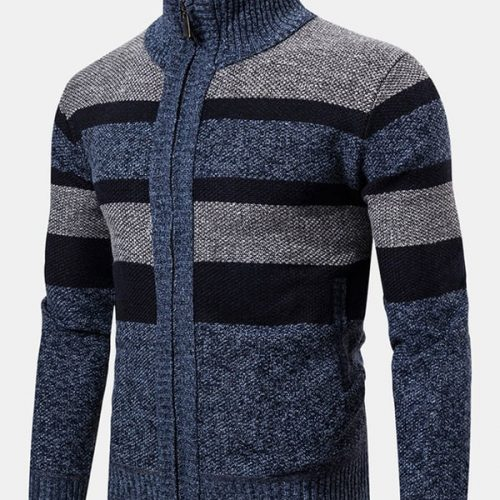 Mens Woolen Thick Casual Knitwear
