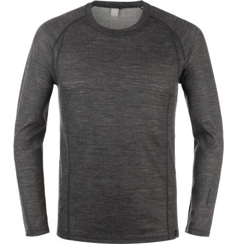 Glissade Pure Merino Wool Base Layer Men's Midweight Top Wicking Shirt
