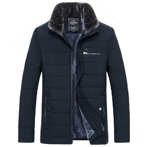 Bearboxers Men's Cotton Padded Outerwear Coat