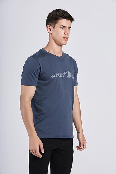 Bearboxers Mens 100% Merino Wool T Shirt