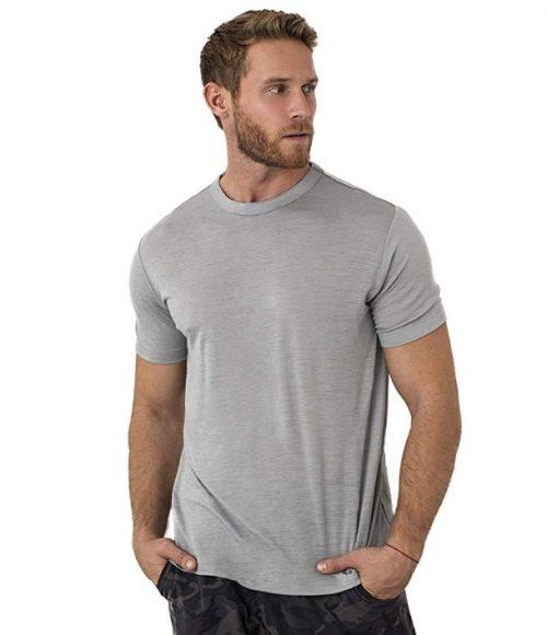 Bearboxers Mens Merino Wool High-Tech T-Shirt